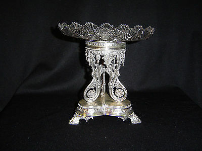 Victorian Compote with Brilliant Cut platelet
