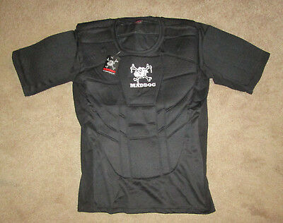Maddog Pro Padded Chest Protector Black Size L/XL Paintball!!!