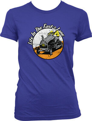 Life In The Fast Lane Kid Go Cart Child Racing Wooden Car Wheels Juniors T-Shirt