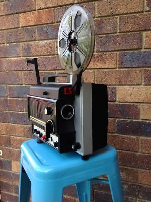 Super 8mm Film projector, sound Chinon 8000