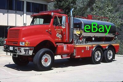 Fire Engine Photo Los Angeles International Master Tank Truck Apparatus Madderom