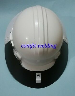 Sun Shade Brim Extension for Hard Hat Safety helmet UV protective