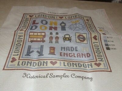 I Love London Tapestry with Wool