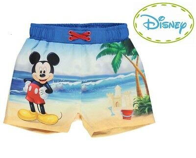 DISNEY Mickey Mouse Beach BOARD SHORTS BOARDIES SWIM Boys Baby Kids 000-2