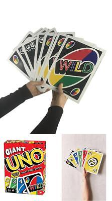 Giant Uno Game Card High Quality Huge Size Playing Cards Fun Family Party Games