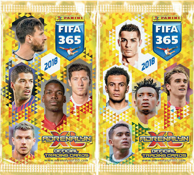 Panini Adrenalyn XL Fifa 365 2018 Limited Editions and Top Masters