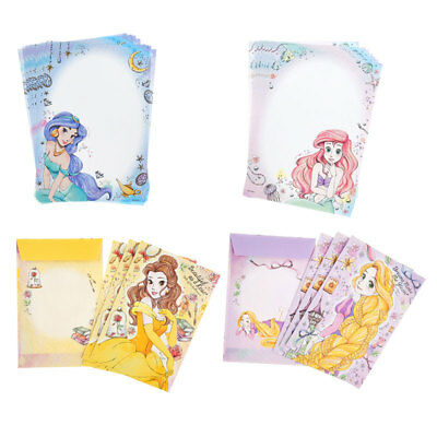 Disney Store Japan Kira that may with Letter Set Clear file Disney Princess