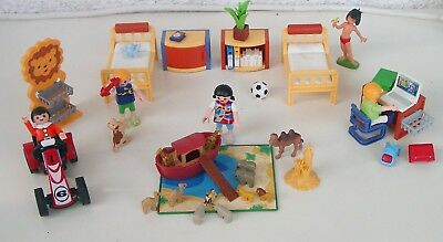 Playmobil 6556 kinderzimmer jungenzimmer neu for Playmobil kinderzimmer 4287