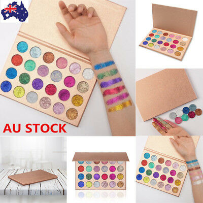 24 Colors Glitter Shimmer Eyeshadow Eye Shadow Palette Eyes Makeup Cosmetic Kit