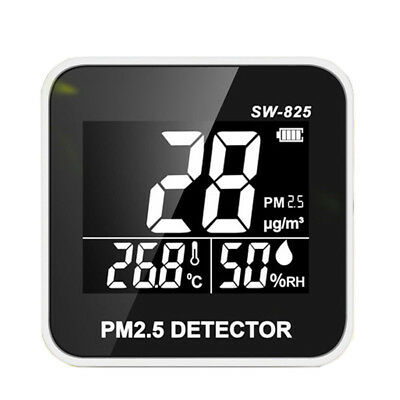 5V 1A Air Quality Monitor Mini Laser Pm2.5 Detector Wall Gas Analyzer Alluring