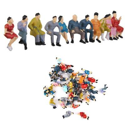 HO Scale 1:87 Painted Model People Figure / Seated Passenger Kids Baby Toys Pop
