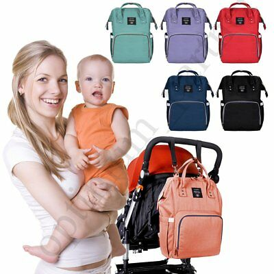 UK Mummy Backpack Baby Diaper Nappy Multifunctional Mommy Changing Travel Bags