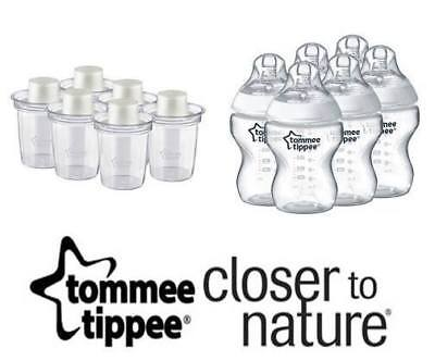 Tommee Tippee Milk Powder box Dispenser Feeding Bottle infant bundle BPA free