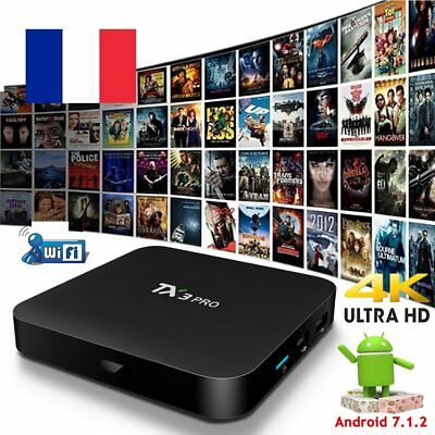2018 TX3PRO Android 7.1.2 nougat Quad core TV BOX 4K Media Player WIFI MINI PC