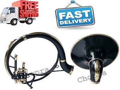 "Sousaphone Painted 100% Brass 22"" Bb ""Chopra"" 3 VALVE WITH BAG MOUTH PIECE"