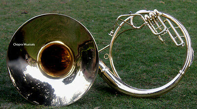 "Best Sousaphone Shinning Brass 20"" Bb ""Chopra"" 3 Valves with Bag M/ P 130116"