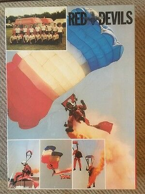 Red Devils The Parachute Regiment Free Fall Team Vintage Puzzle Sealed