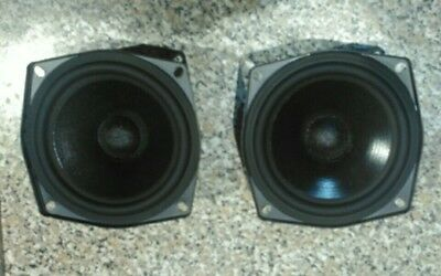 """Vifa C13WG-08-08 Pair 5""""in Mid-Woofer Speaker Drivers, For Cyrus Mission 760 780"""