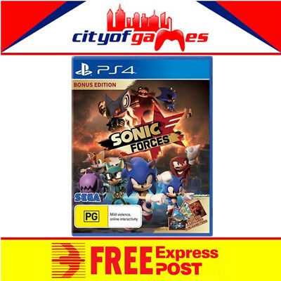Sonic Forces Bonus Edition PS4 Game New & Sealed Free Express Post In Stock