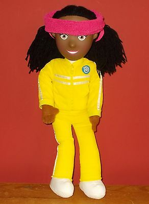 """Josie Jump Poseable  18"""" Sports Doll From Tv Show Balamory"""