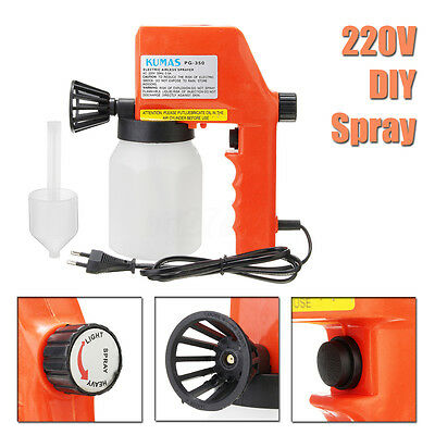 Electric Paint Spray Gun Rok Paint Airless Sprayer For Wicker Shutters Fencing