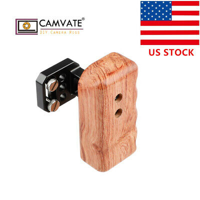 CAMVATE Wooden Handle Grip (Right) for Panasonic GH Camera Camera cage