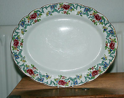 Vintage Booths : Floradora A8042 : 2 x Platters : Meat and Sandwich / Cake