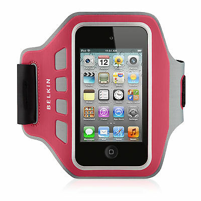 Belkin Neopreno ease-fit BRAZALETE para Ipod Touch 4g Ciclismo Trote Running X