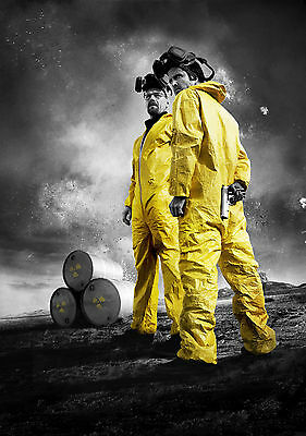 Breaking Bad Giant Poster Art Print In Card / Canvas