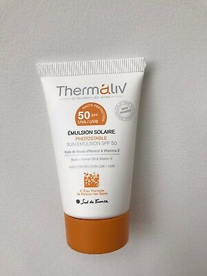 Emulsion solaire thermaliv neuf