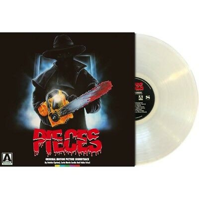 Pieces 1982 Horror OST Vinyl LP Limited Edition Clear Vinyl Only 500 Made