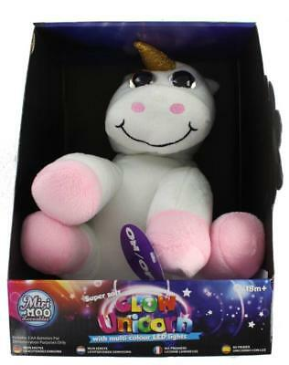 Miri Moo Loveables Super Soft Multi Colour Changing Glow Unicorn