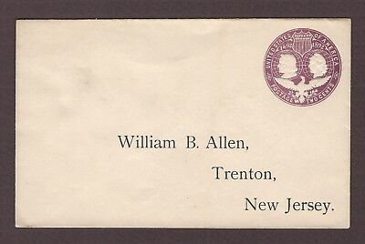 mjstampshobby 1893 US To Famous William B Allen Vintage Cover Used (Lot4843)