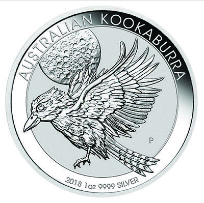 2018 Silver 1oz Kookaburra Bullion Coin