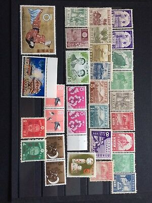 Japan Stamp A Group Of 31 Mint And Unmount Mint Stamp, Delineate Sets