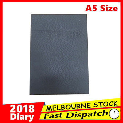 2018 New A5 Diary Week to View Opening Personal Organiser Appointment WTV Spiral