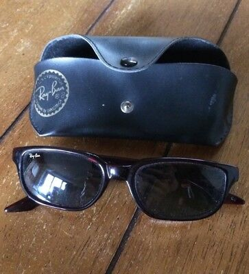 Ray Ban Sunglasses - Tortoise Shell - B&L - Made In Ireland - With Case