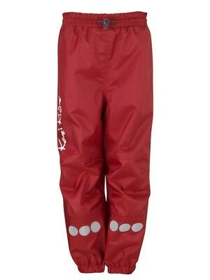 Kids Waterproof and windproof trousers made from robust oxford polyester