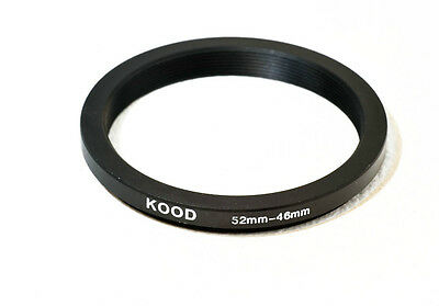 52mm-46mm 52-46 Stepping Ring Filter Ring Adapter Step down
