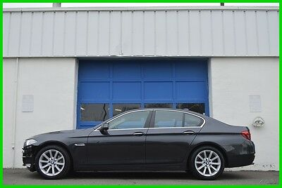 2014 BMW 5-Series 535d xDrive AWD Premium HUD Cold Pkg Nav Save Big Repairable Rebuildable Salvage Runs Great Project Builder Fixer Easy Fix Save