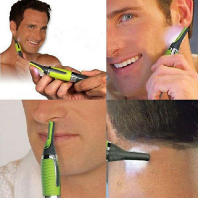 Personal Nose Ear Hair T-OUTLINER TRIM Shaver with LED light for Men Women ANDIS