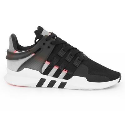 low priced e9ae0 3cedc Mens ADIDAS EQUIPMENT SUPPORT ADV Black Trainers S76962