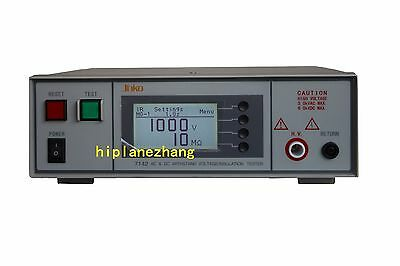 AC/DC Withstand Voltage Insulation Tester Output 5KVAC 6KVDC Built-in Memory PLC