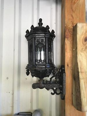 Heavy Solid Gothic Cast Iron Victorian Style Sconces - Wl005C