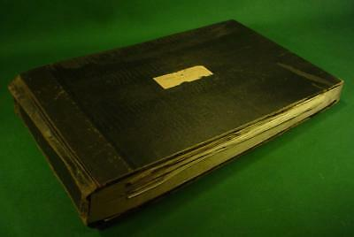 Vintage 1929 Stock Certificate Book Refined Steel Products Over 200 Certificates