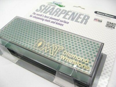 DMT Extra Fine DIAMOND Whetstone BENCH Knife Sharpener! W6EP
