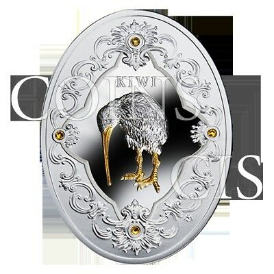 Niue 2014 2$ Kiwi Egg Imperial Faberge Eggs 78g Proof Silver Coin