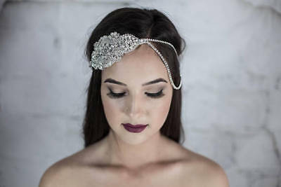 Bridal Hair Jewellery Accessories Bohemian Rhinestone Headpiece Headband Dress