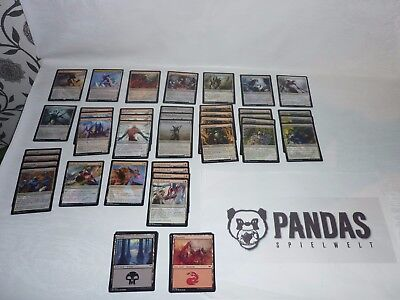 Magic the Gathering schwarz rotes Eldrazi Scion Deck