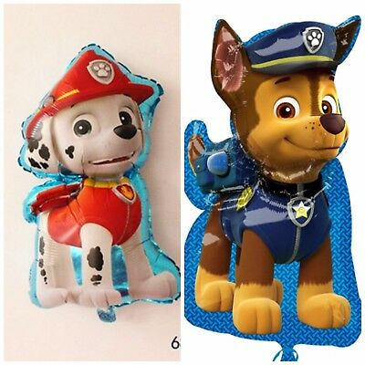 """31"""" Paw Patrol Puppy CHASE,MARSHAL Helium Children's Party Foil Birthday Balloon"""